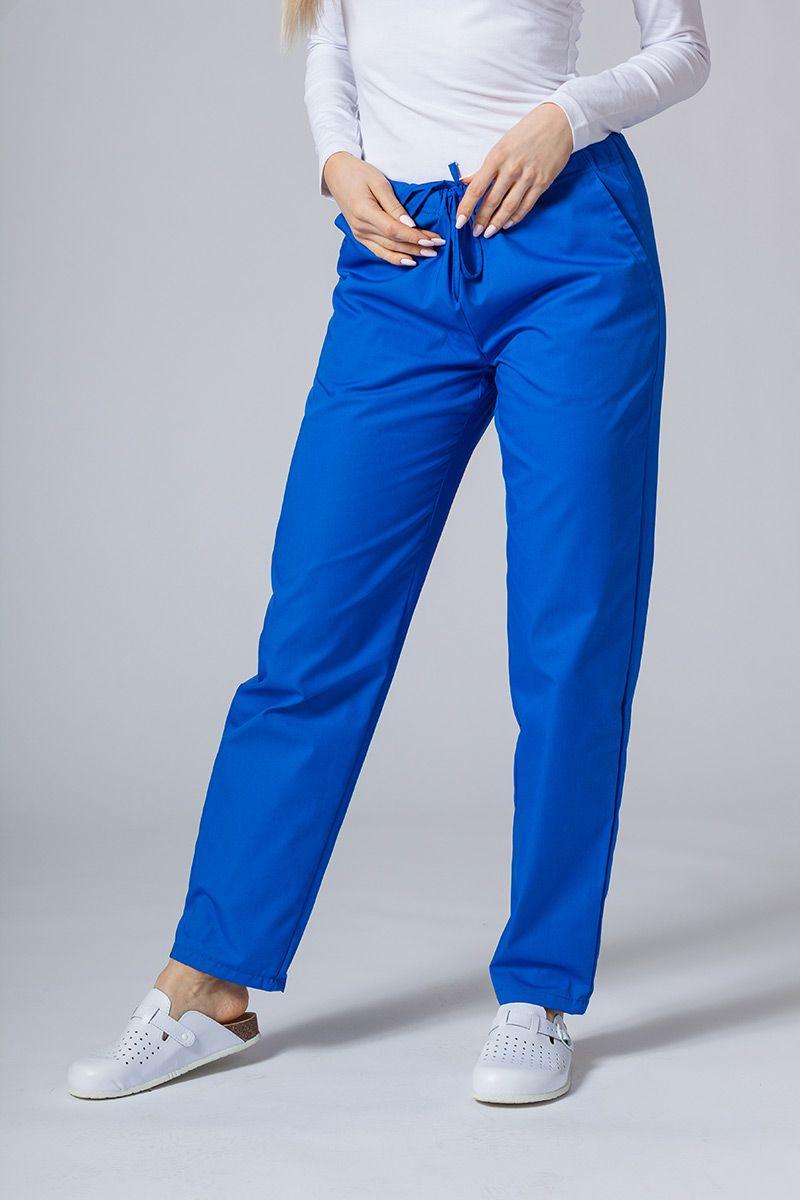 Univerzální lékařské kalhoty Sunrise Uniforms královský granát
