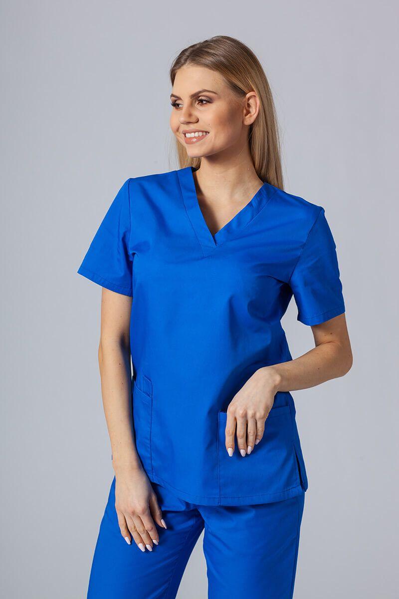 Lékařská halena Sunrise Uniforms královsky modrá