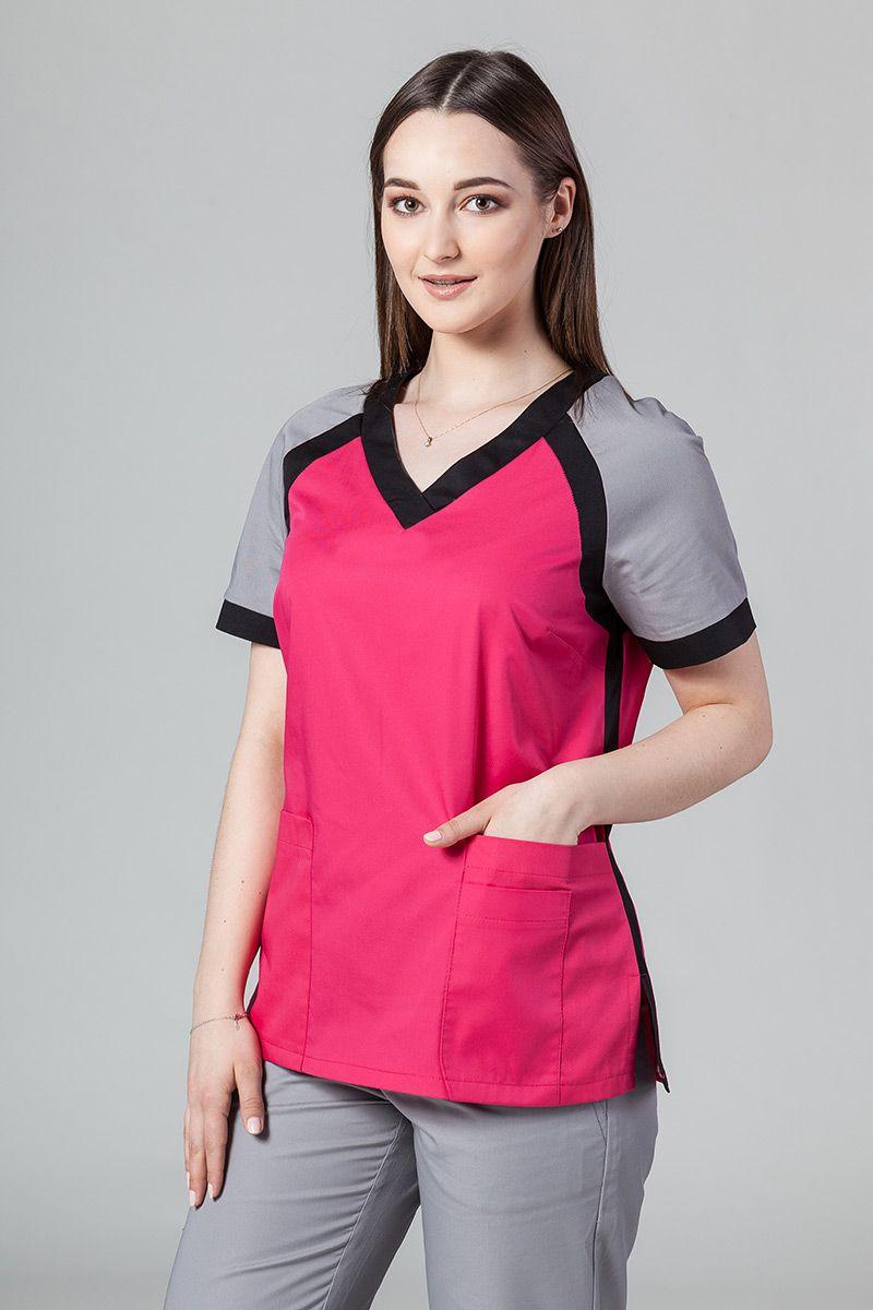 Lékařská halena Sunrise Uniforms Active malina