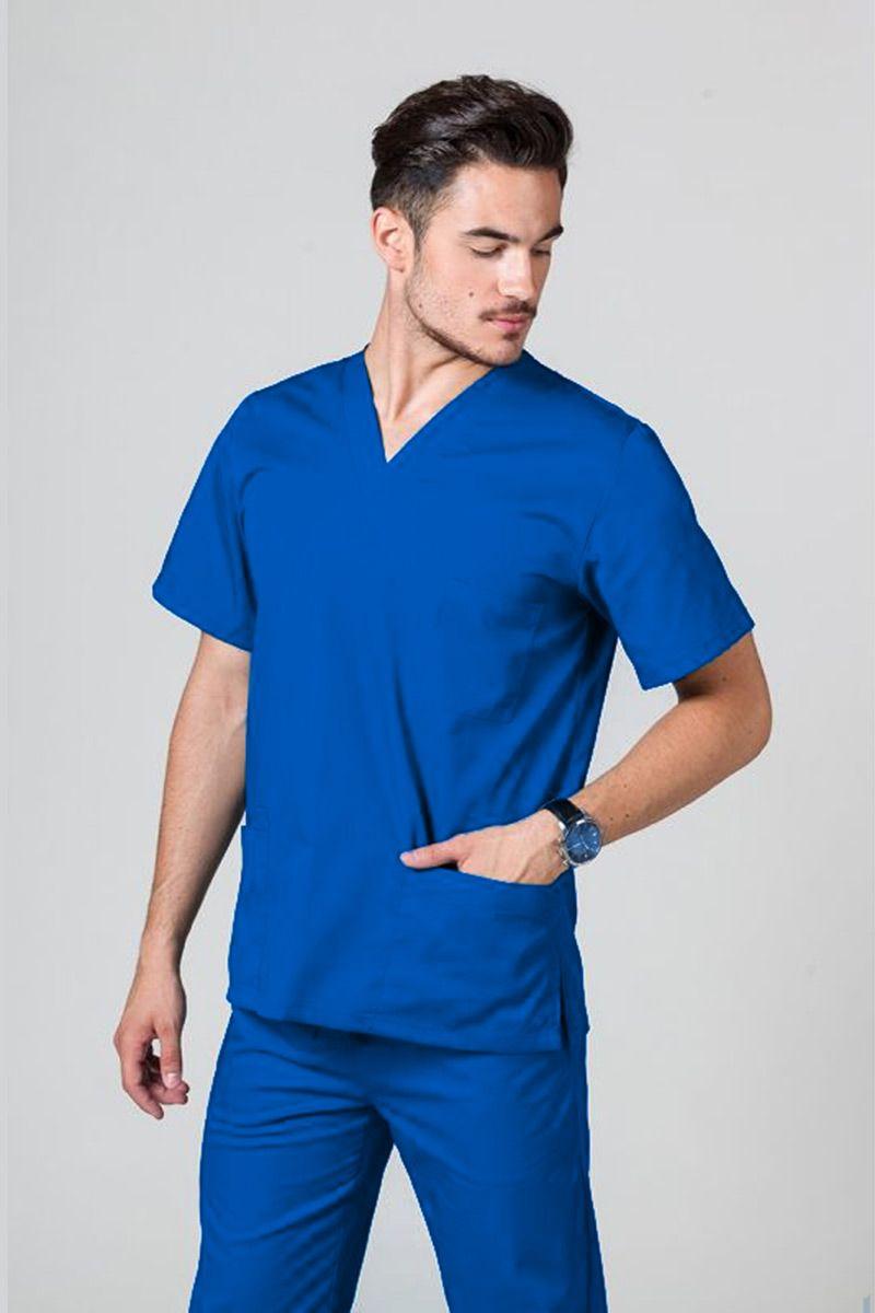 Univerzální lékařská mikina Sunrise Uniforms královsky modrá