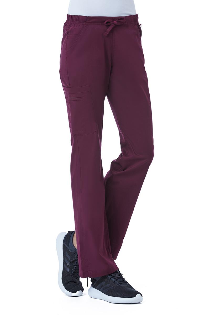 Lékařské kalhoty Maevn Blossom (elastic) třešňově