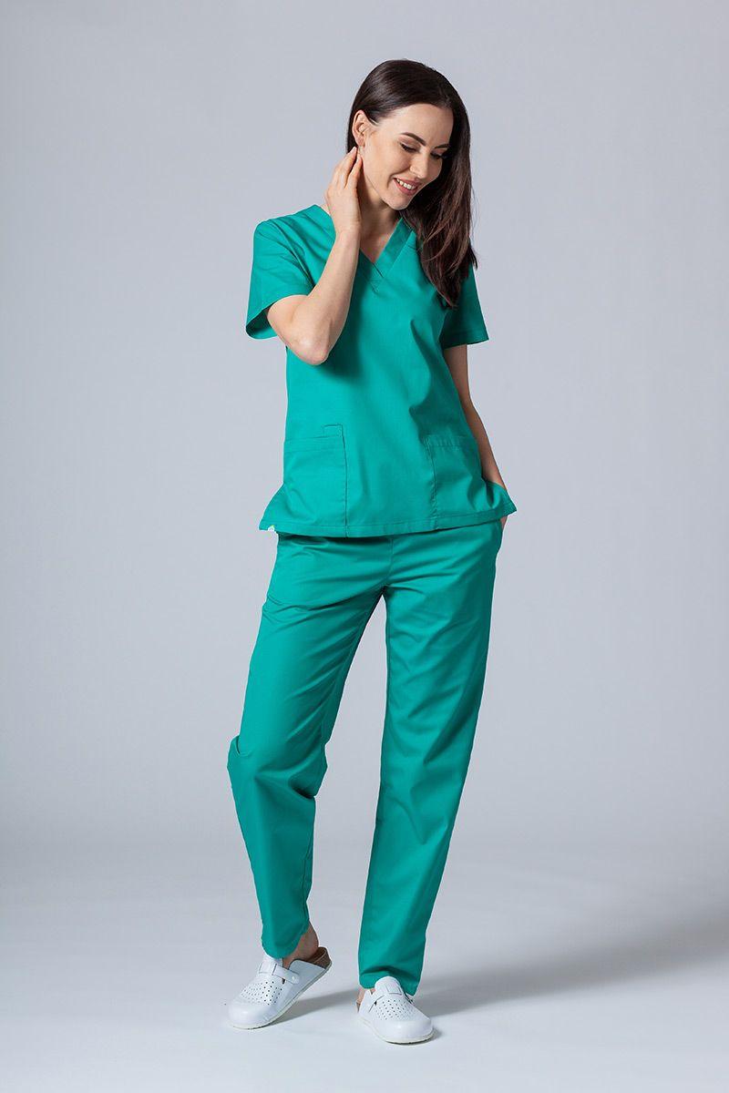 Zdravotnický komplet Sunrise Uniforms zelený