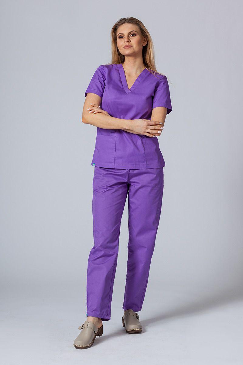 Zdravotnická súprava Sunrise Uniforms fialová