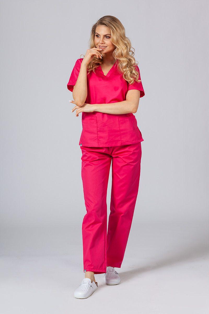 Zdravotnický komplet Sunrise Uniforms malinový