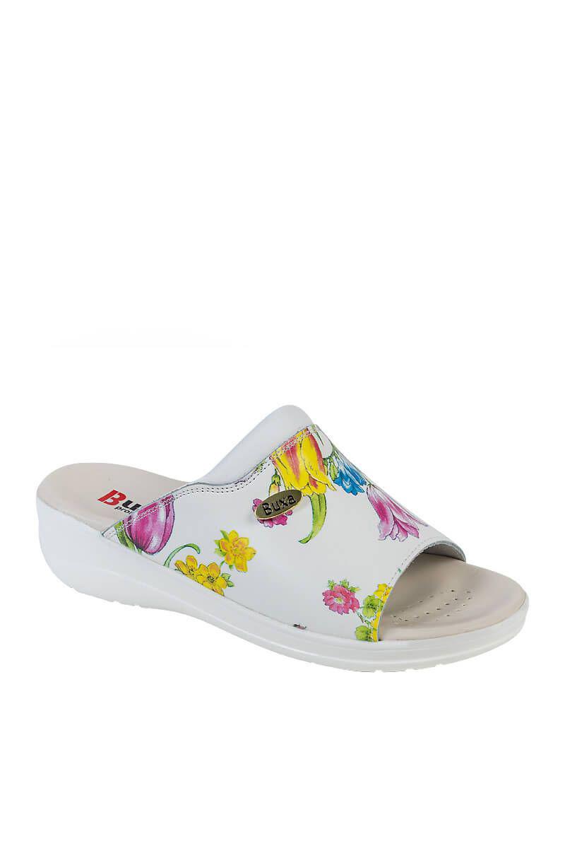 Zdravotní obuv Buxa model Professional Med30 květy gucci