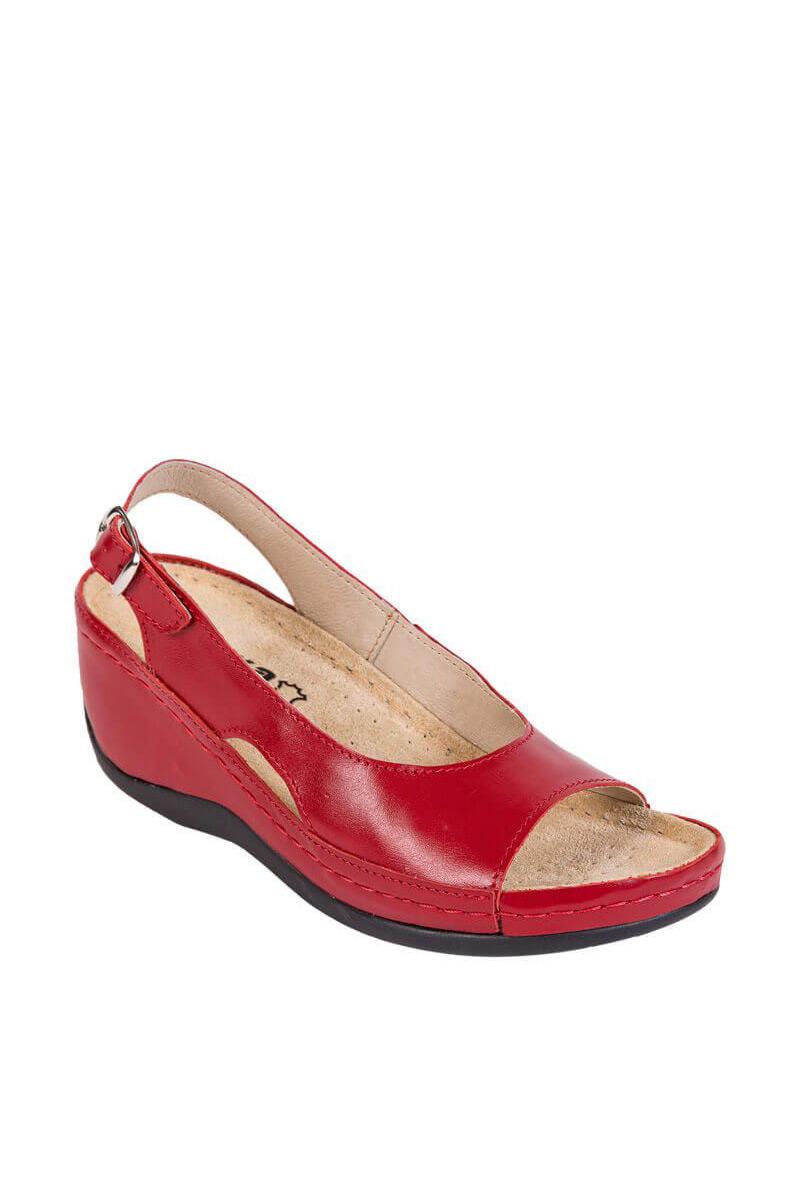 Zdravotnická obuv Buxa Anatomic BZ330 červená