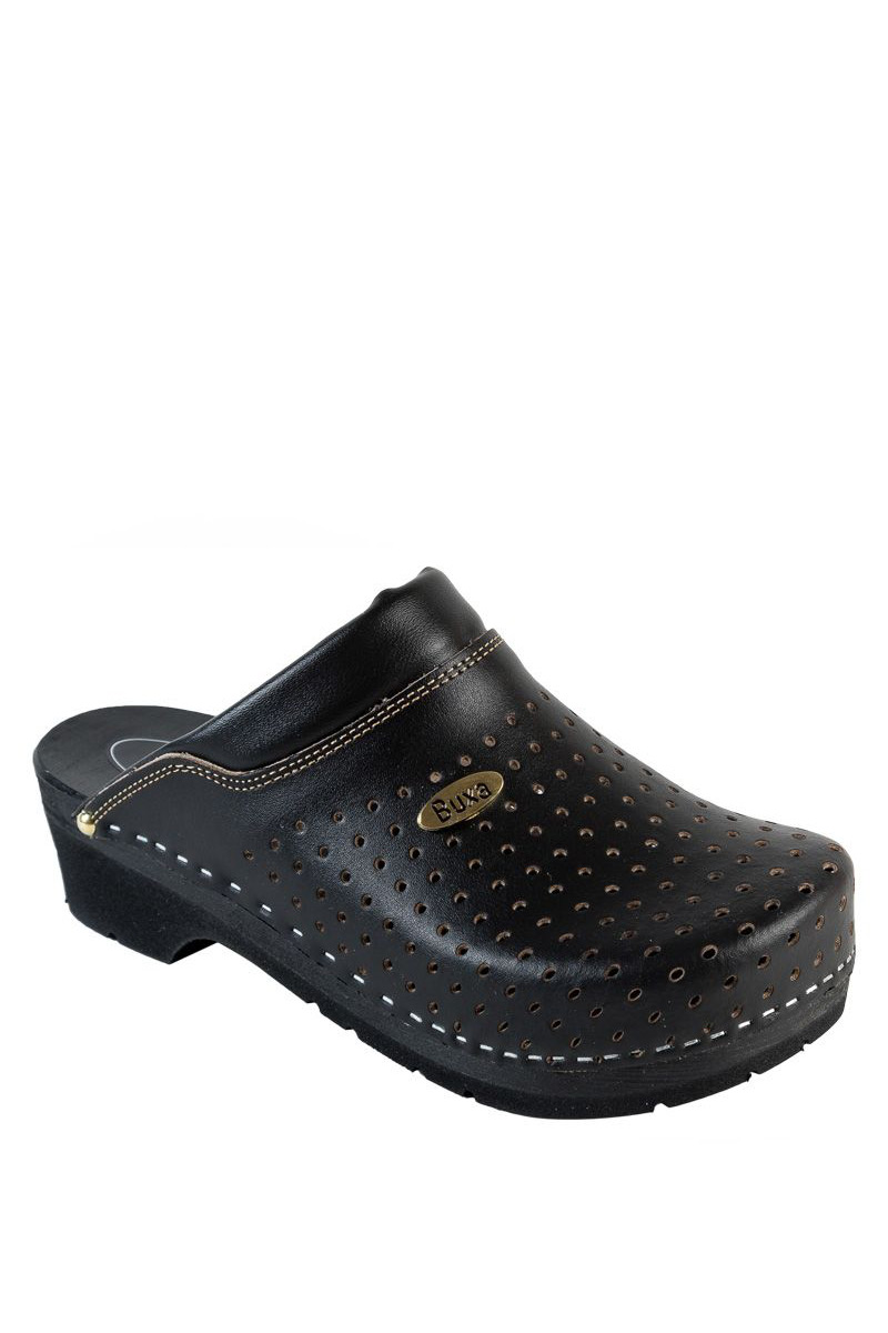 Zdravotnická obuv Buxa Supercomfort FPU11 černá