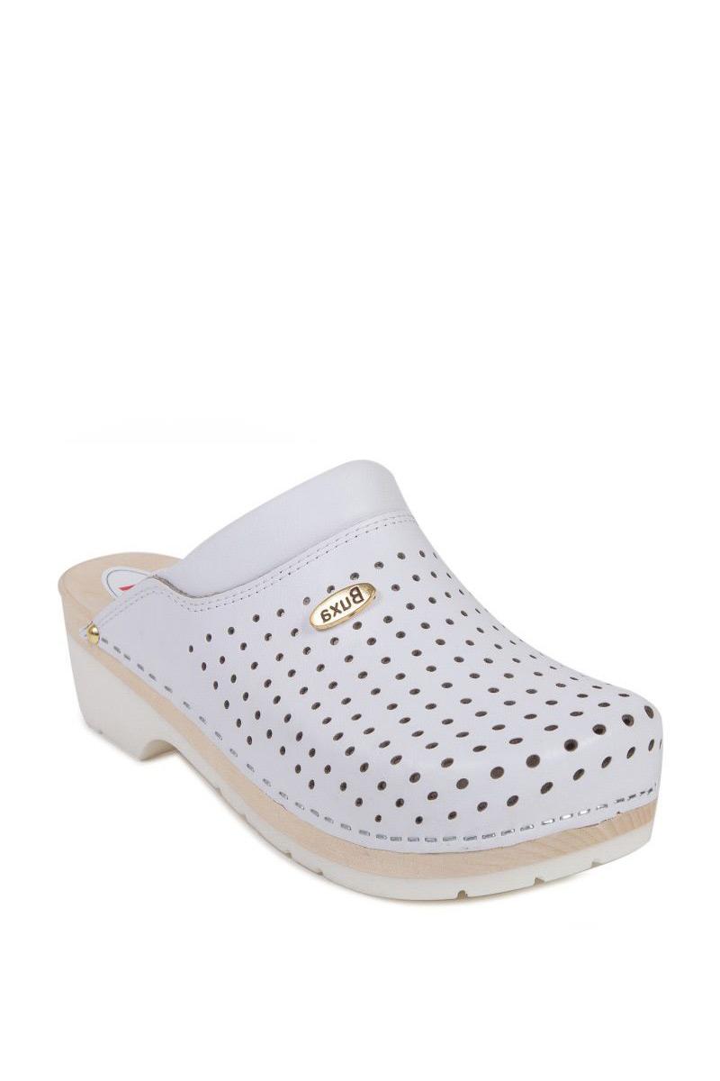 Zdravotnická obuv Buxa Supercomfort FPU11 bílá