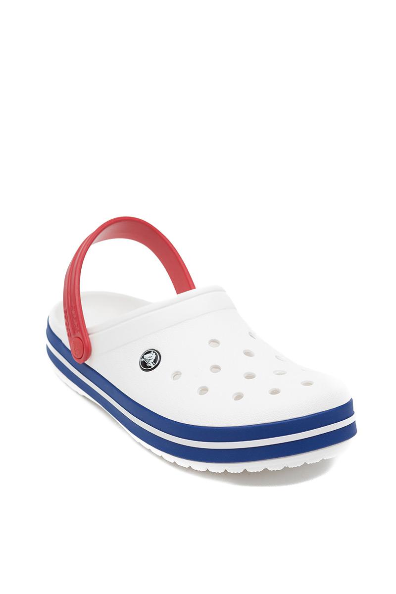 Obuv Crocs™ Classic Crocband bílá/blue jean
