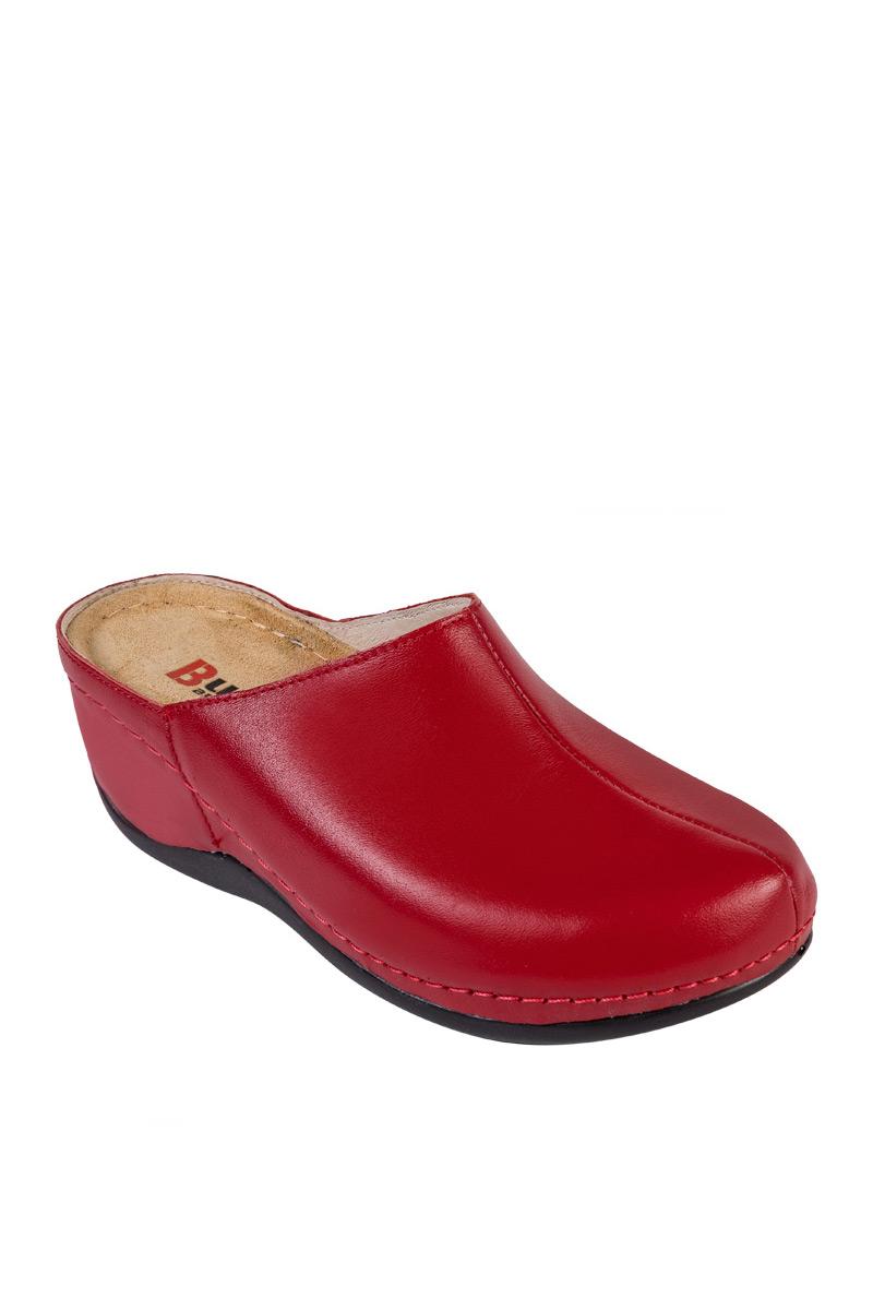 Zdravotnická obuv Buxa Anatomic BZ340 červená