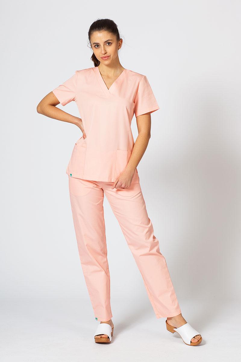 Zdravotnická súprava Sunrise Uniforms lososová