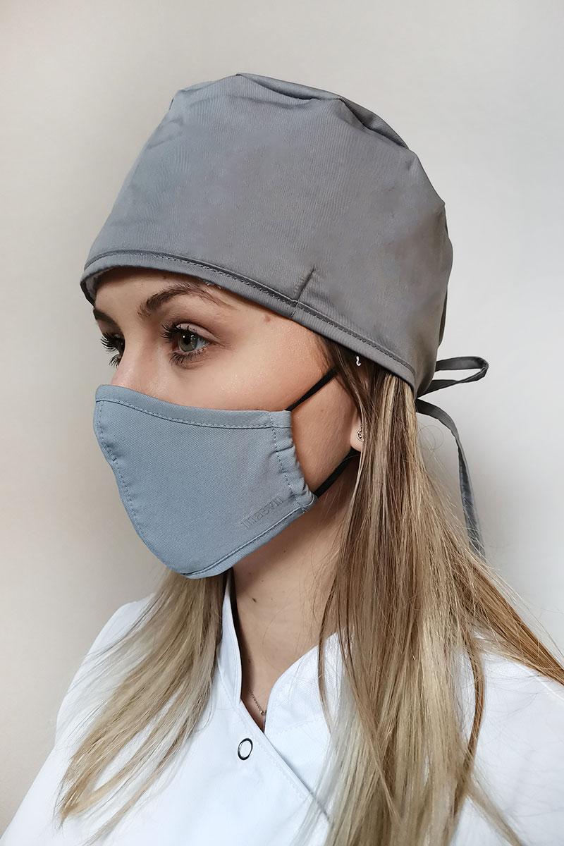 Ochranná maska Maevn, dvojvrstvová (s technológiou AGION®), unisex, šedá