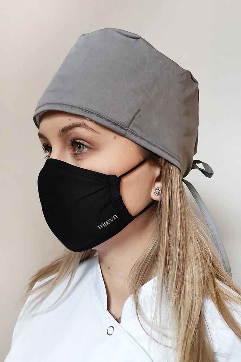 Ochranná maska Maevn, dvojvrstvová (s technológiou AGION®), unisex, čierna