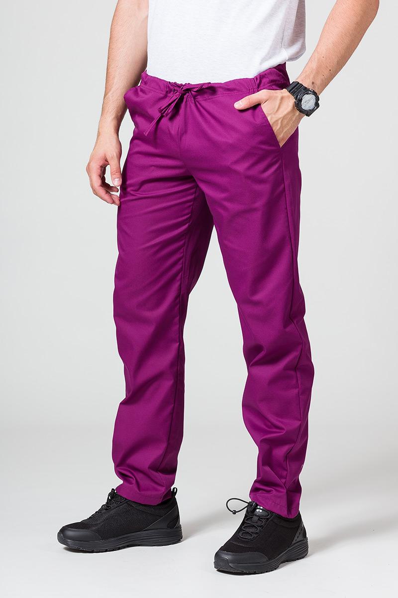 Univerzální lékarské nohavice Sunrise Uniforms baklažánová