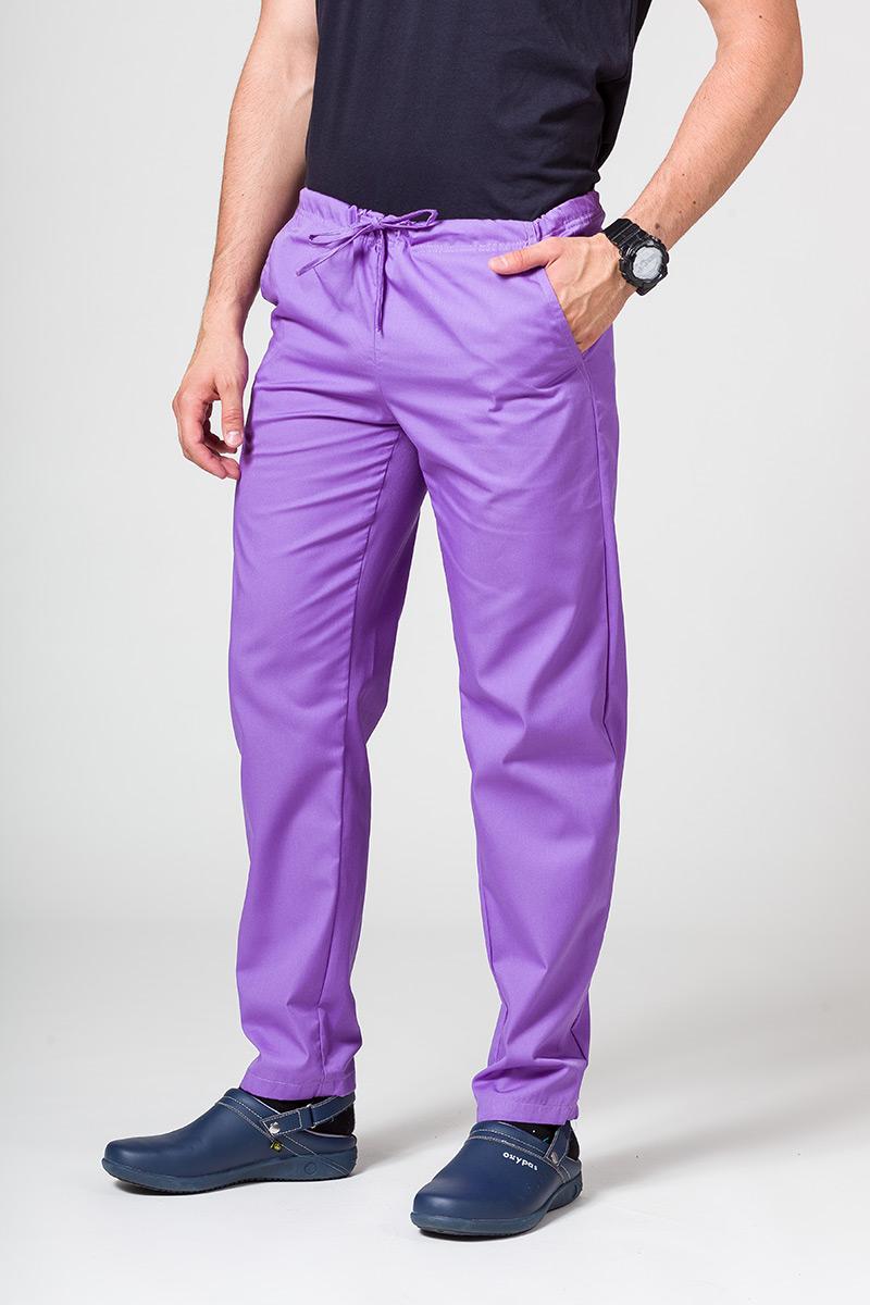 Univerzální lékarské nohavice Sunrise Uniforms fialové