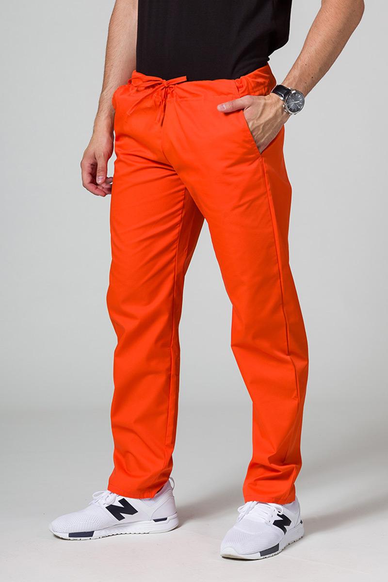 Univerzální lékarské nohavice Sunrise Uniforms oranžové
