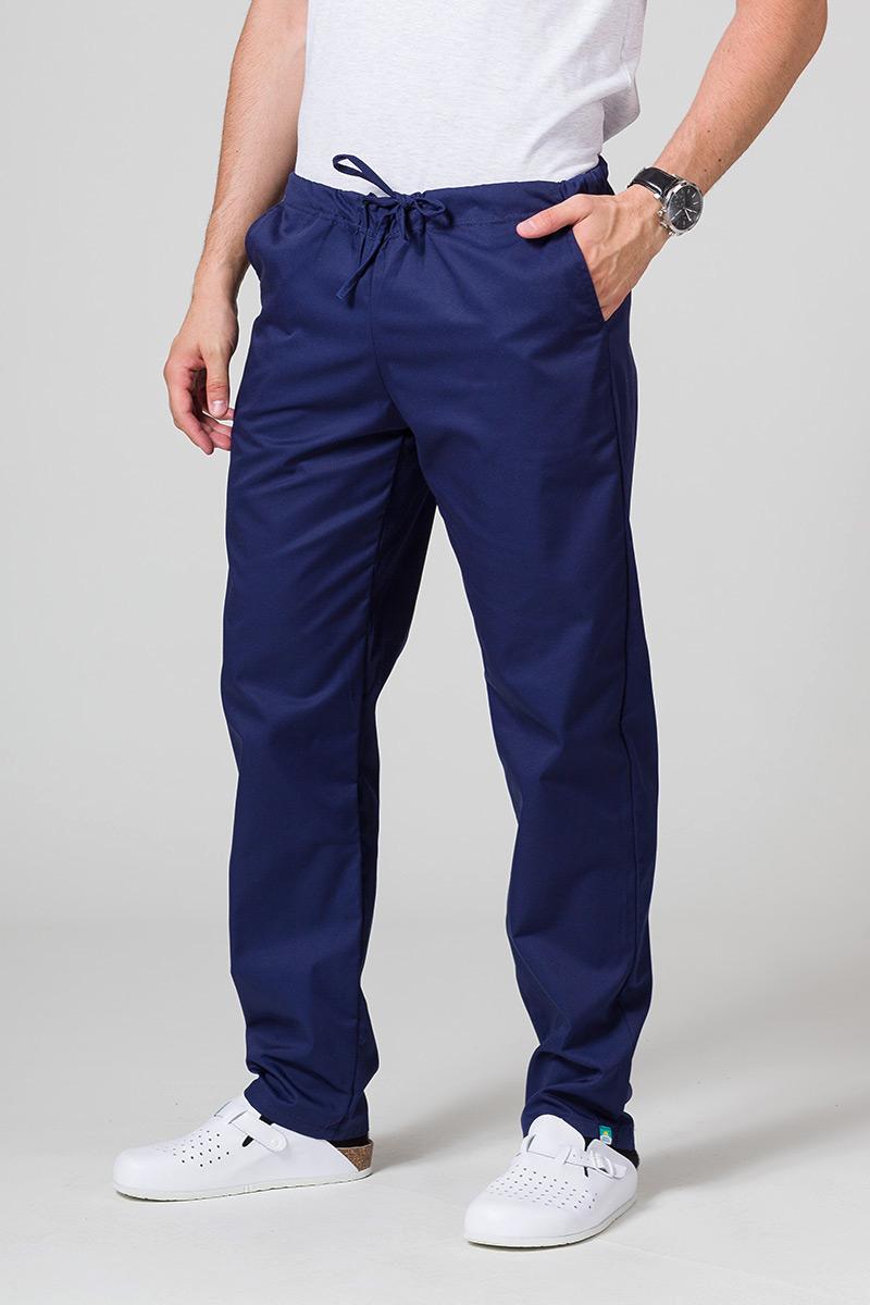 Univerzální lékarské nohavice Sunrise Uniforms námornícké modré
