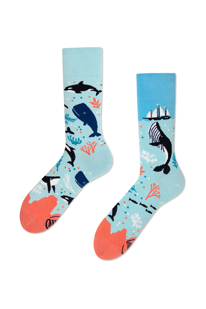 Barevné ponožky Ocean Life - Many Mornings