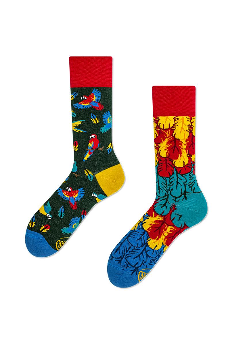 Barevné ponožky Paradise Parrot - Many Mornings
