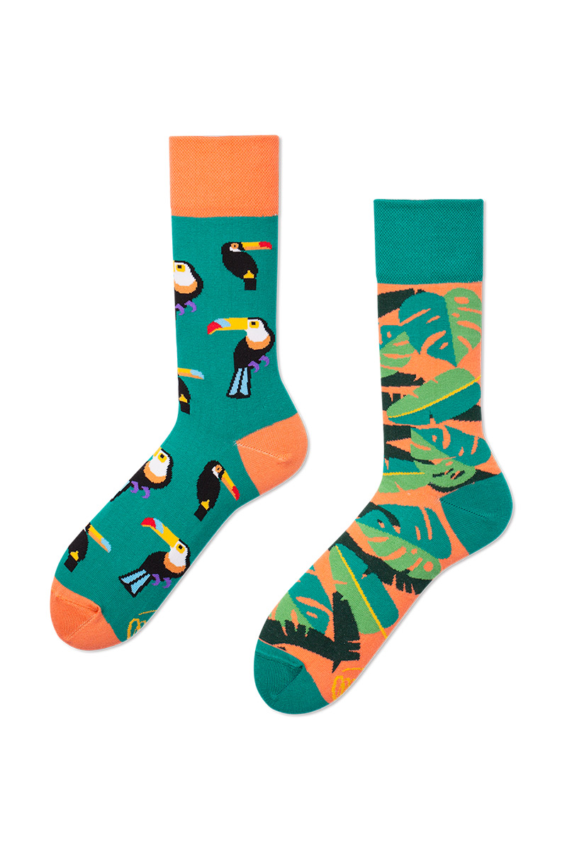 Barevné ponožky Tropical Heat - Many Mornings