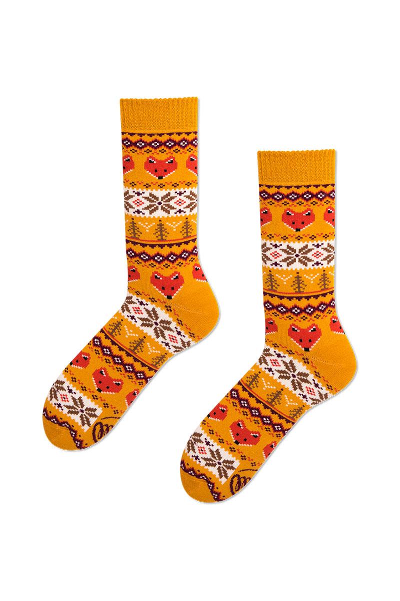 Farebné ponožky Warm Fox (teplé) - Many Mornings
