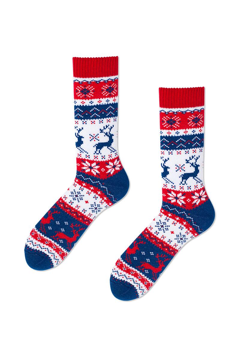 Farebné ponožky Warm Rudolph (teplé) - Many Mornings