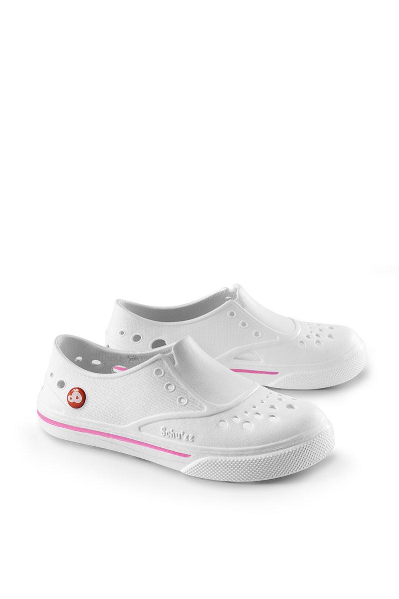 Schu'zz Sneaker'zz bílé / růžové boty
