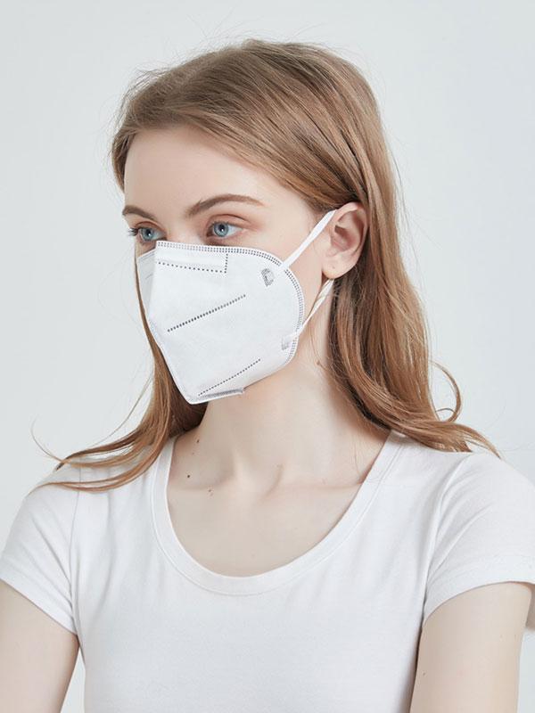 Ochranná maska FFP2 (N95), čtyřvrstvá, CE. Cena za 2 kusy